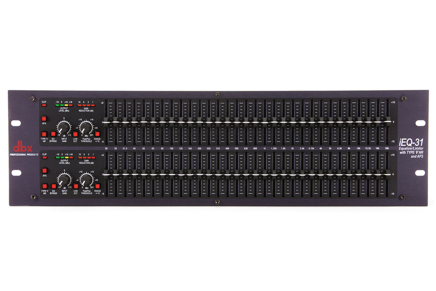 DBX iEQ31 Dual 31-band Graphic EQ