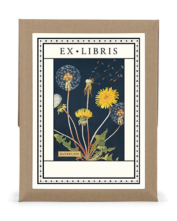 Dandelion Bookplates