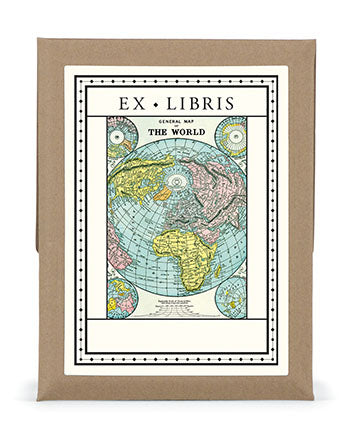 Vintage Map Bookplates