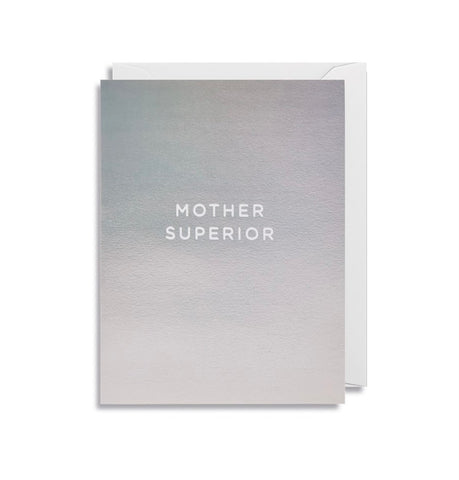 """Mother Superior"" mini Mother's Day Card"
