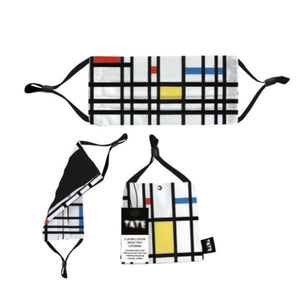 """Mondrian"" Cotton Face Mask"