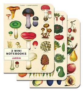 Jardin - Set of Mini Notebooks