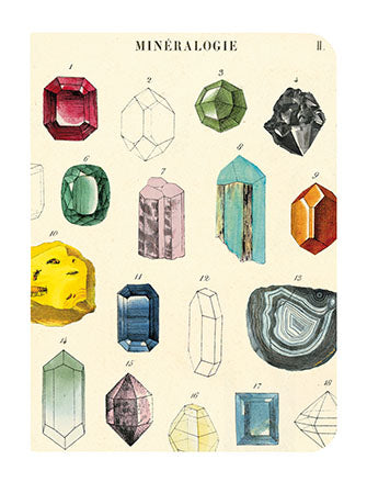 Mineralogy - Set of Mini Notebooks