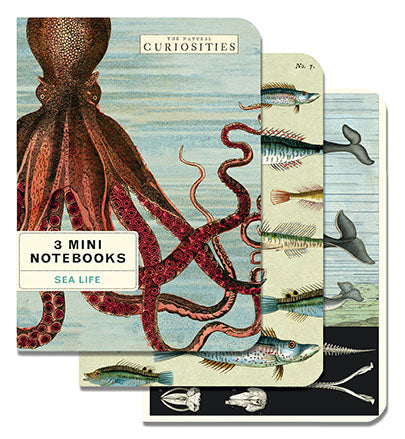 Sea Life - Set of Mini Notebooks