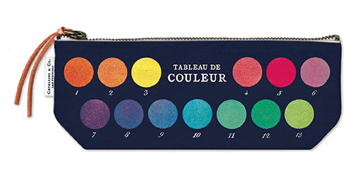 Colour Chart Mini Pouch
