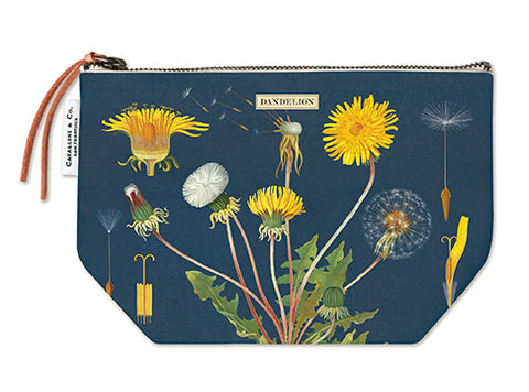 Dandelion Zippered Pouch