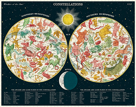 Vintage Jigsaw Puzzle: Constellations