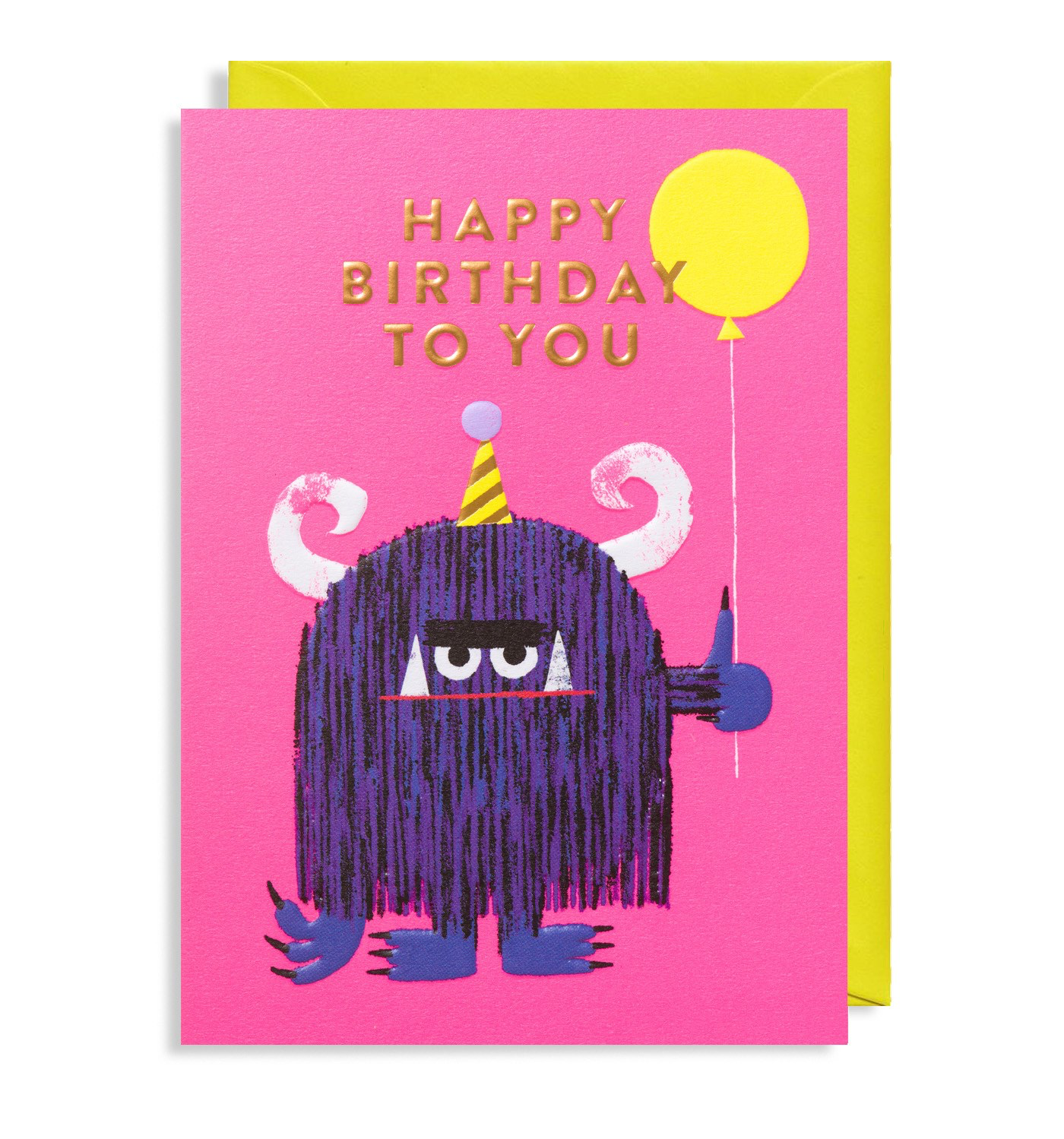 """Party Monster"" Birthday Card"