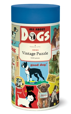 Vintage Jigsaw Puzzle: Dogs