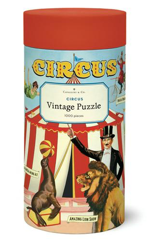 Vintage Jigsaw Puzzle: Circus
