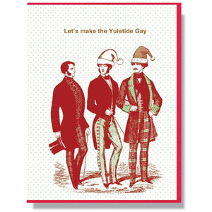 "Smitten Kitten: ""Let's Make The Yuletide Gay"" Boxed Holiday Cards"