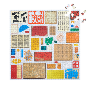 """Several Found Things (Numbers, Letters, Shapes)"" 1,000 piece jigsaw puzzle"