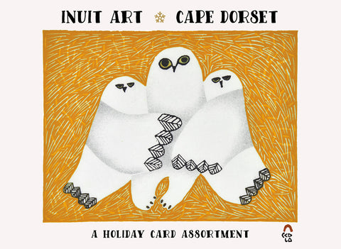 Inuit Art: Cape Dorset Holiday Cards, Box of 20 Assorted Holiday Cards
