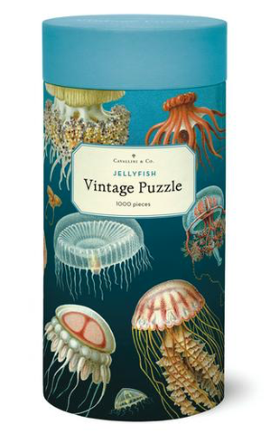 Vintage Jigsaw Puzzle: Jellyfish