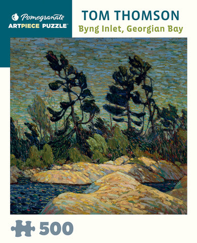 "Tom Thomson: ""Byng Inlet, Georgian Bay"" 500 piece jigsaw puzzle"