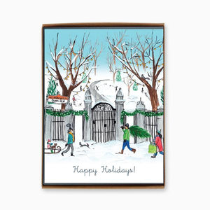 """Toronto: Trinity Bellwoods Park"" box of 8 holiday cards"