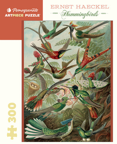 "Ernest Haeckel: ""Hummingbirds"" 300 piece jigsaw puzzle"