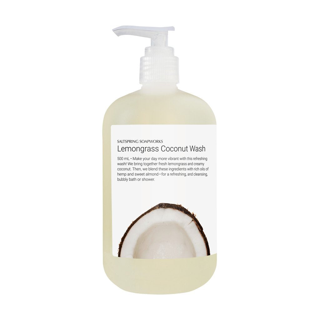 Lemongrass Coconut Body Wash - 500mL