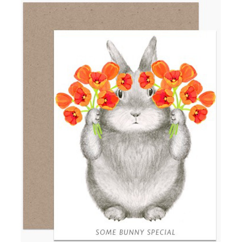 """Some Bunny Special"" Note Card"