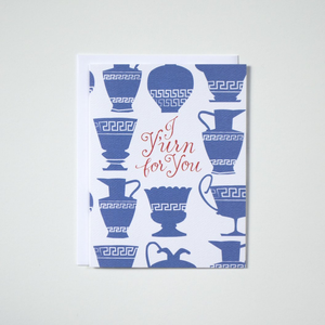 """I Y'urn For You"" Note Card"