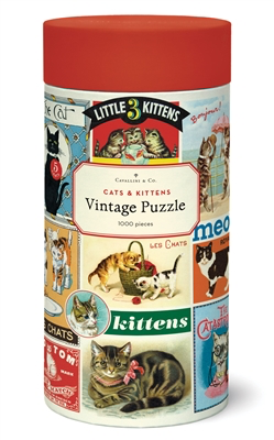 Vintage Jigsaw Puzzle: Cats & Kittens