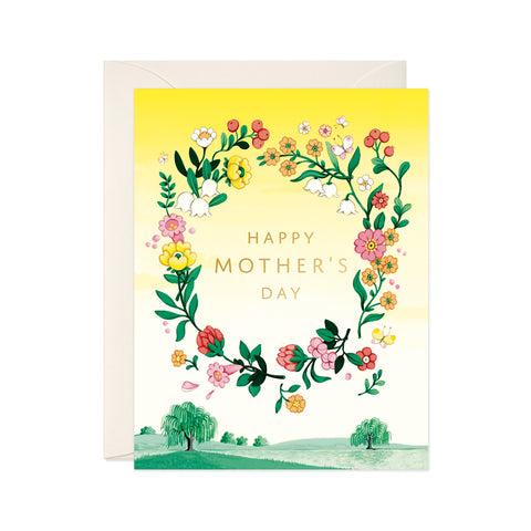 """Floating Florals"" Mother's Day Card"