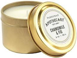 """Chamomile & Fig"" 2 oz. Apothecary Candle"