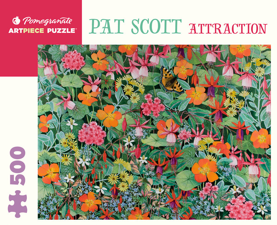 "Pat Scott: ""Attraction"" 500 piece jigsaw puzzle"