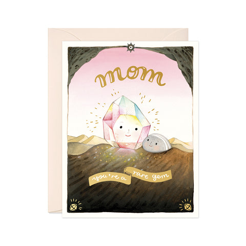"""Rare Gem"" Mother's Day Card"