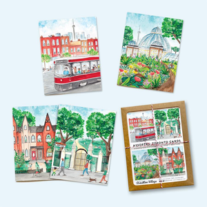 """Toronto Summer"" Box of 8 Note Cards"