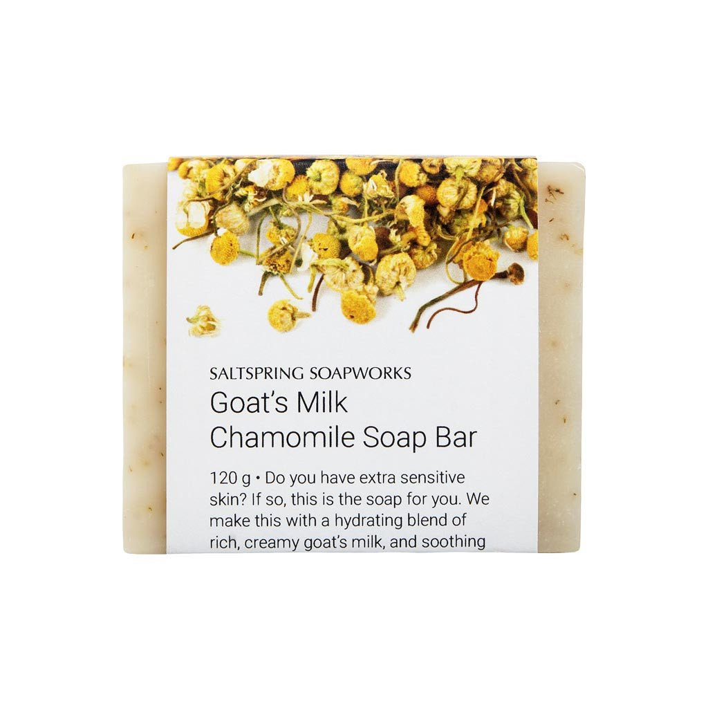Goat's Milk Chamomile Soap Bar