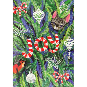 """Evergreen Joy"" Boxed Holiday Cards"