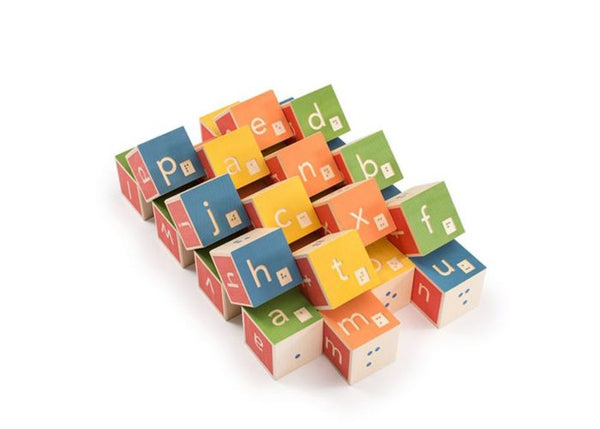 Braille Alphabet Blocks