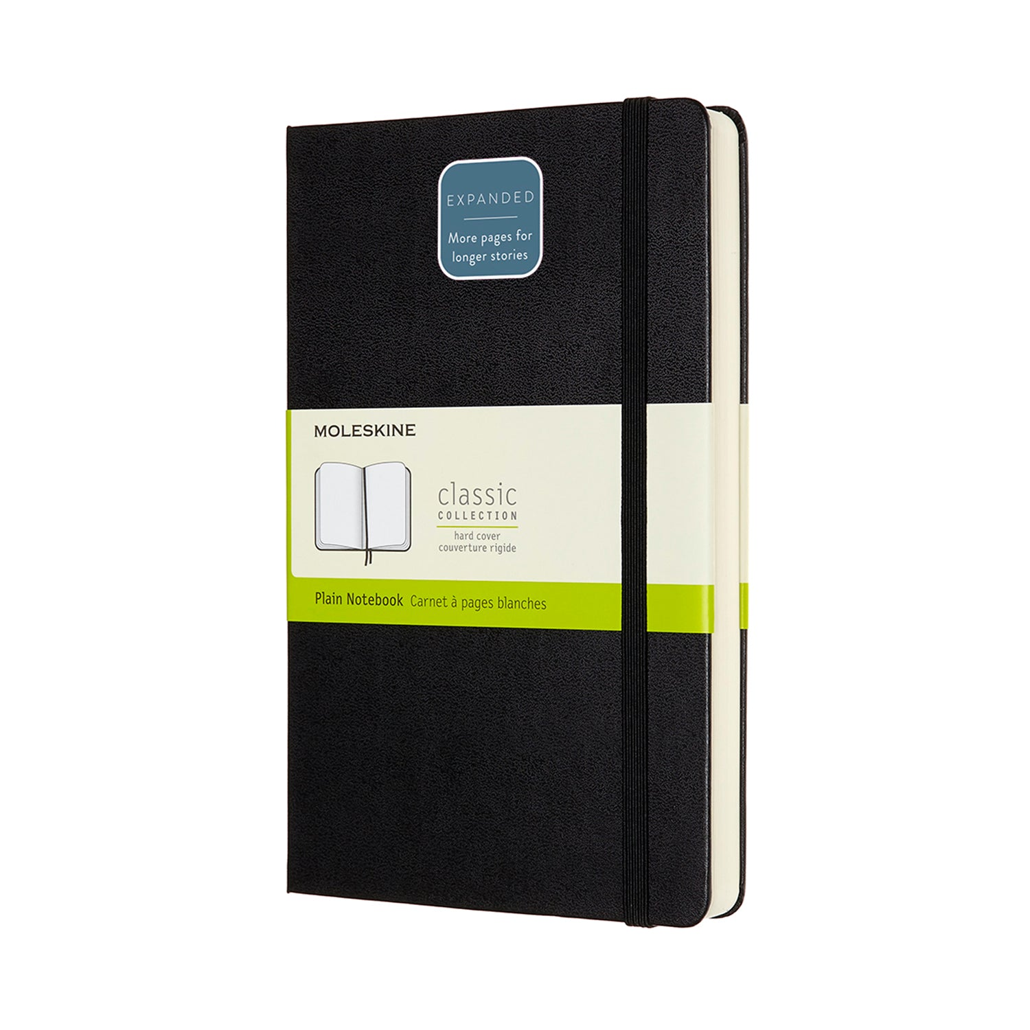 Moleskine Classic Notebook - Expanded Version - Plain Pages