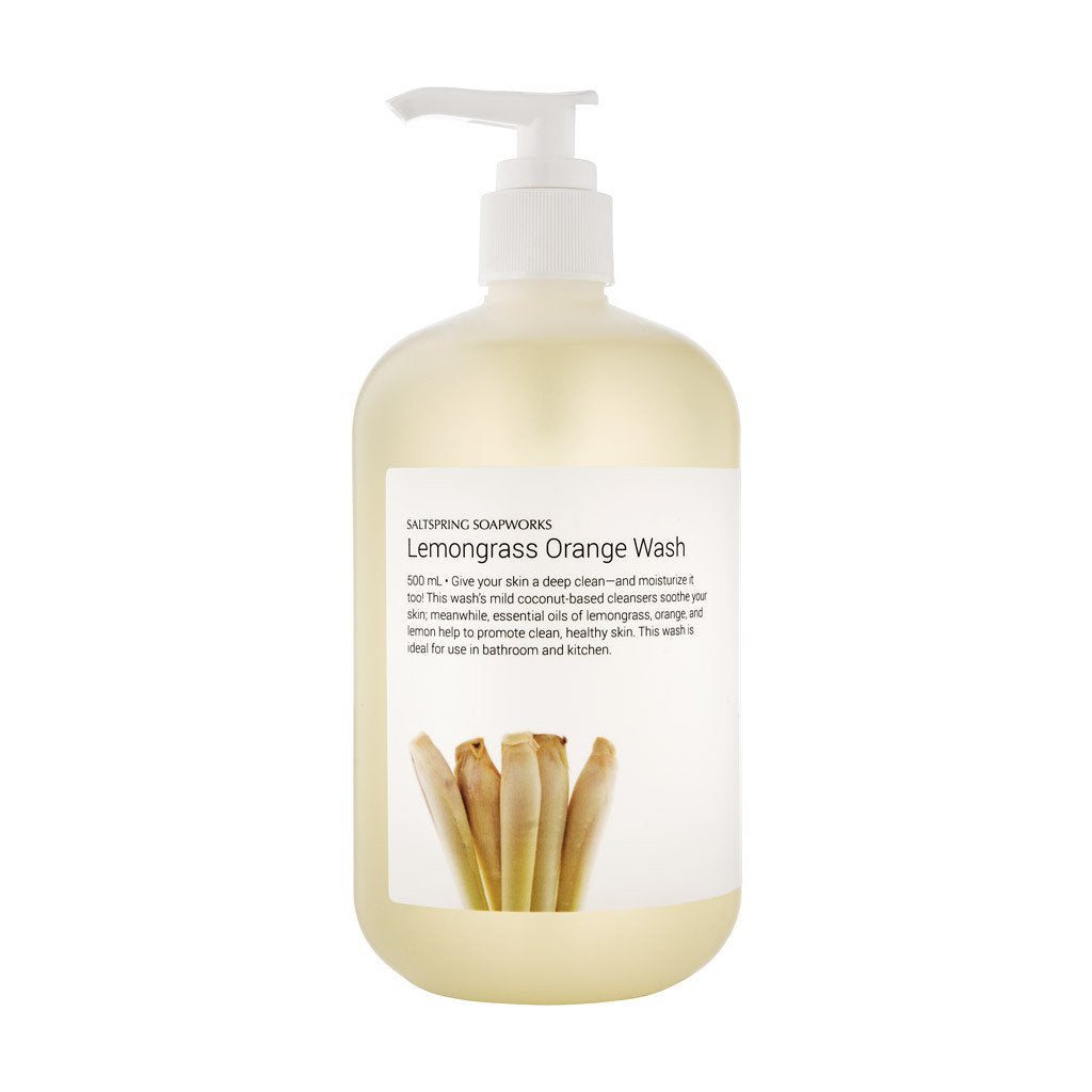 Lemongrass Orange Wash - 500 mL