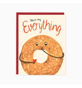 """You're My Everything"" Note Card"