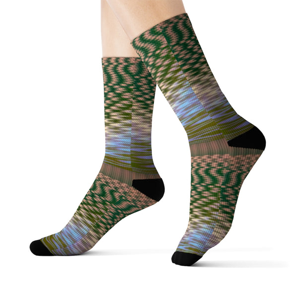 "JORDAN GRAY - ""Sick Seashore"" Socks"