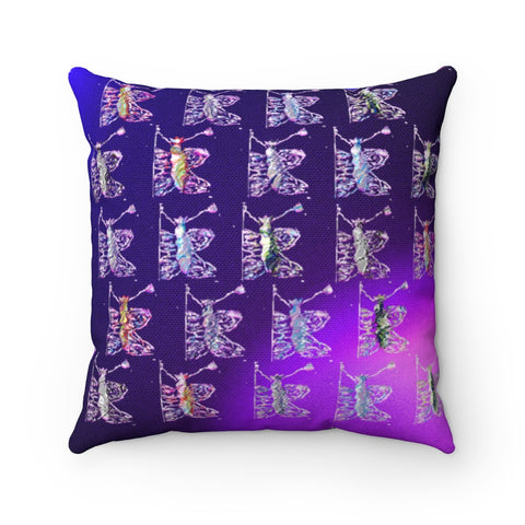 "JANESSA ROBINSON - ""Butterfly"" Square Pillow"
