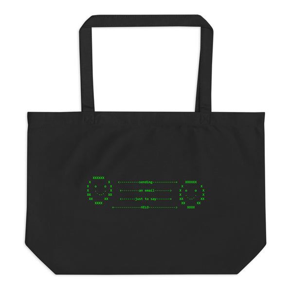Char Stiles Email Large Tote Bag