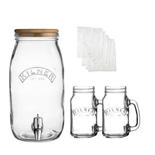 Load image into Gallery viewer, KILNER KOMBUCHA DRINKS MAKING SET