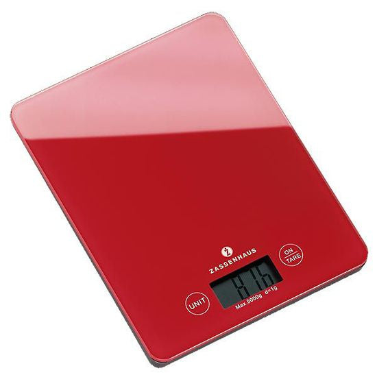 ZASSENHAUS DIGITAL SCALE RED