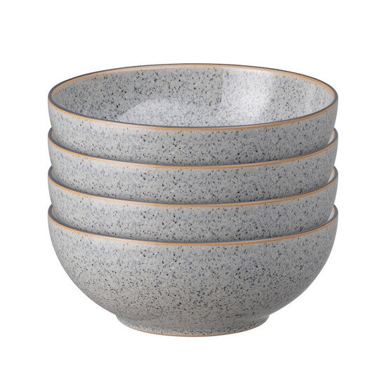DENBY STUDIO GREY CEREAL BOWL GREY SET OF 4