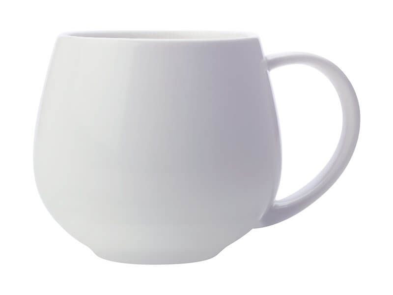 MAXWELL & WILLIAMS WHITE BASICS SNUG MUG 450ML WHITE