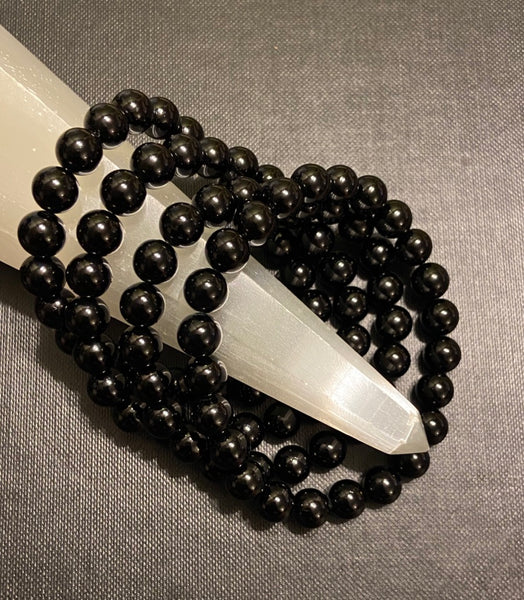 Black Tourmaline Bracelet - 8mm