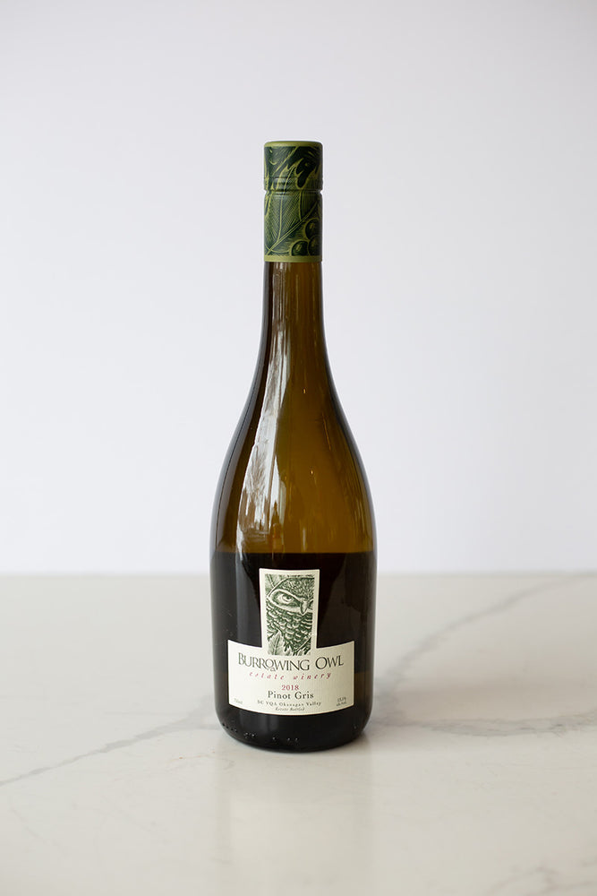 Pinot Gris by Burrowing Owl