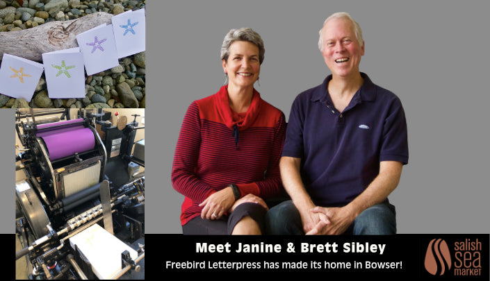 Meet Janine & Brett Sibley of Freebird Letterpress