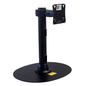 Tech Tower, Freestanding Base, Double Pivot Flat Monitor Mount (367-4012-06) with Printer Tray Arm