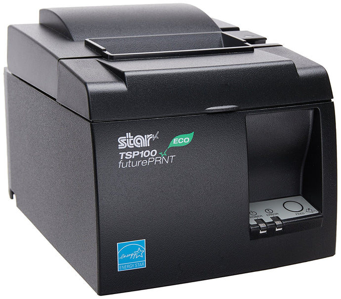 Star MicronicsTSP143IIU GRY US ECO - Thermal Receipt Printer - Gray - Refurbished - DCCSUPPLY.COM
