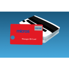 Load image into Gallery viewer, Red MICROS Magnetic ID Cards (25/set) - DCCSUPPLY.COM