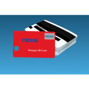 Red MICROS Magnetic ID Cards (25/set) - DCCSUPPLY.COM